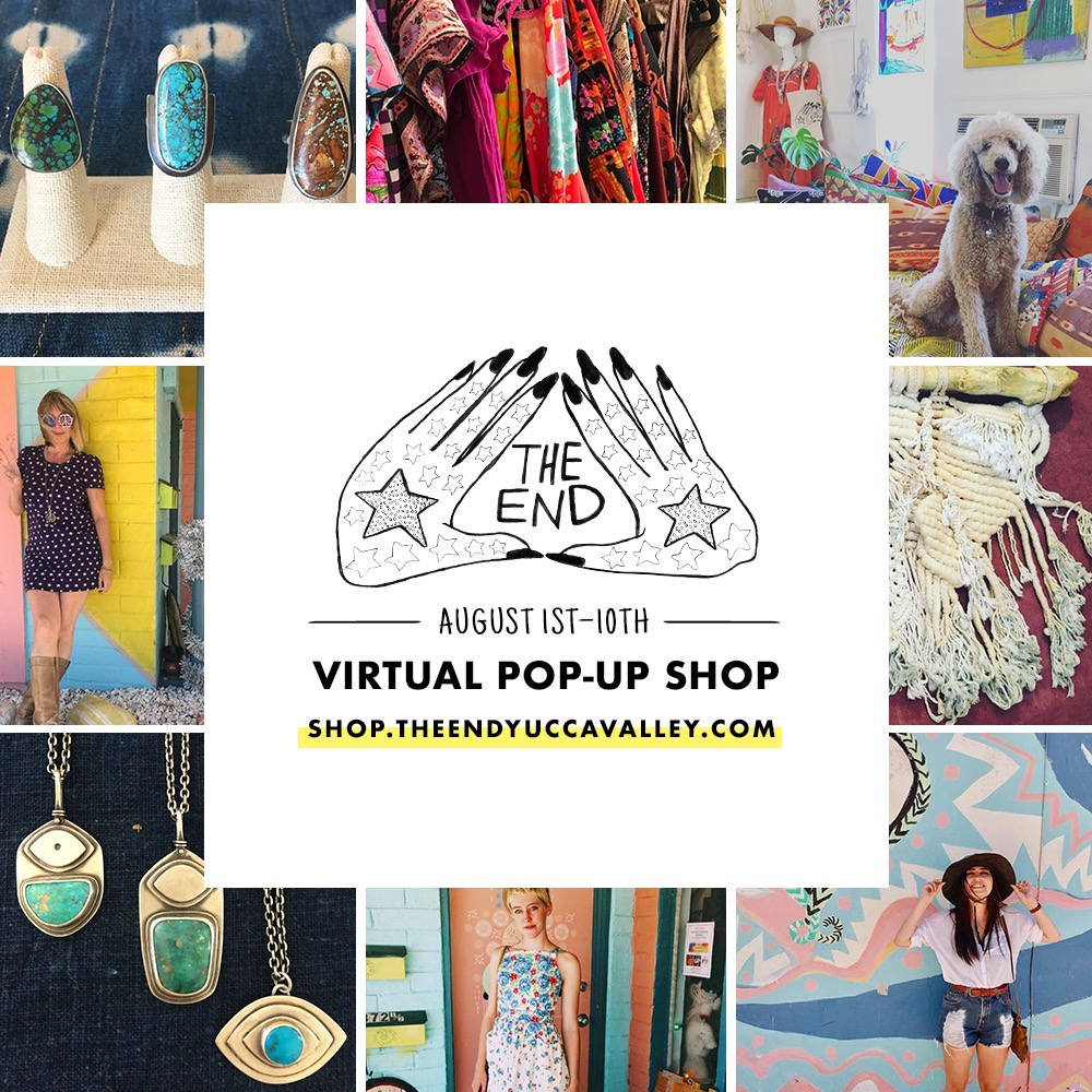 THE END virtual pop up