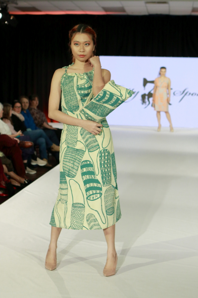 Label Betty Spoke on the Eco Fashion Week Australia runway in Fremantle, Perth.