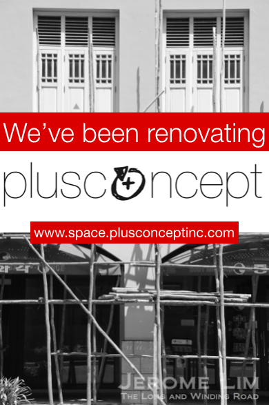 new website plusconcept|space