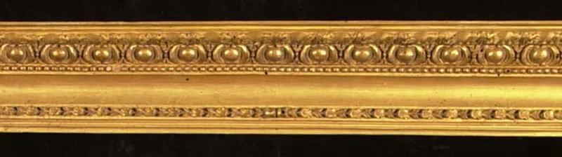 Italian, Rome, circa 1725, 'Bernini' frame: husk, pearl, cabochon and acanthus leaf ornament