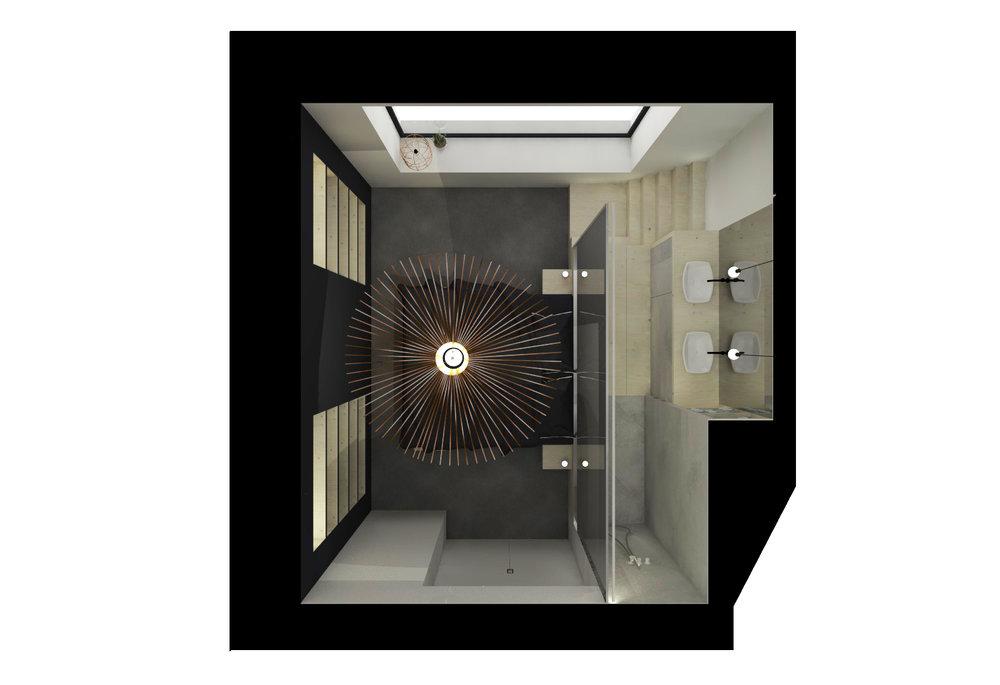 #vertigo#poolseden#vola#mortex#indirectlicht#zwart#tapijt#doorkijkspiegelglas#muuto#casteelken
