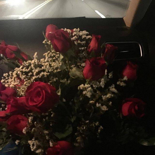Sneak peek of flowers for tomorrow's event