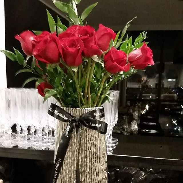 Roses are Red!!!! Prep for our private event this evening
