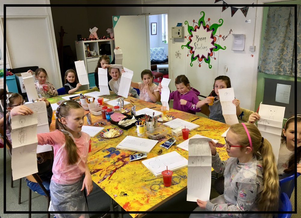 Arty Parties - We offer a range of birthday party packages.