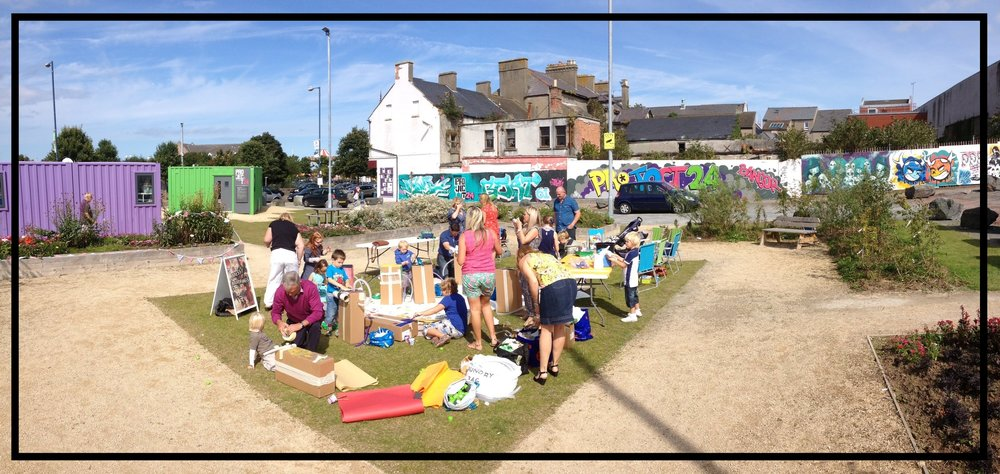 Community Projects - We regular work with different types of organisations to deliver creative community projects in a range of settings.