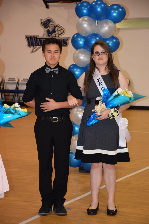 Alexander Nguyen & Emily Heath - 10th Grade Representatives