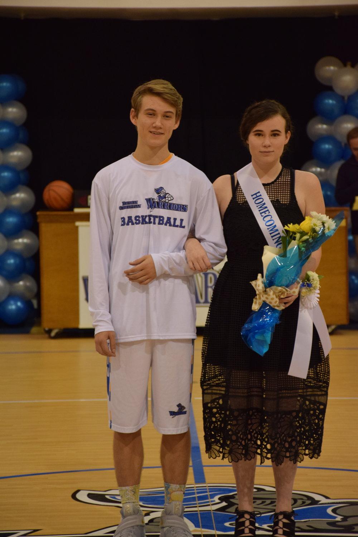 Josh Dunlap & Kat McGuire - 11th Grade Representatives