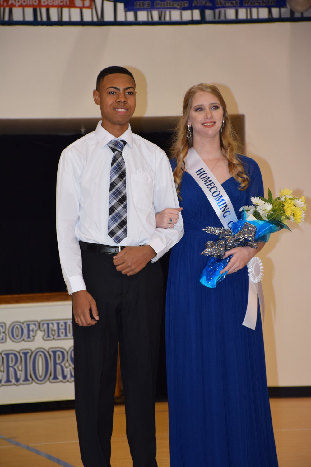 CJ Cartwright & Erin Knight - Homecoming Court