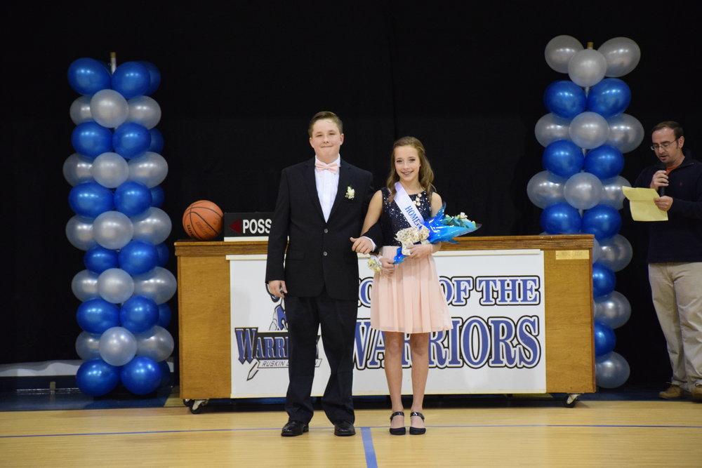 Trent Lewis & Riley Sorge - 8th Grade Representatives