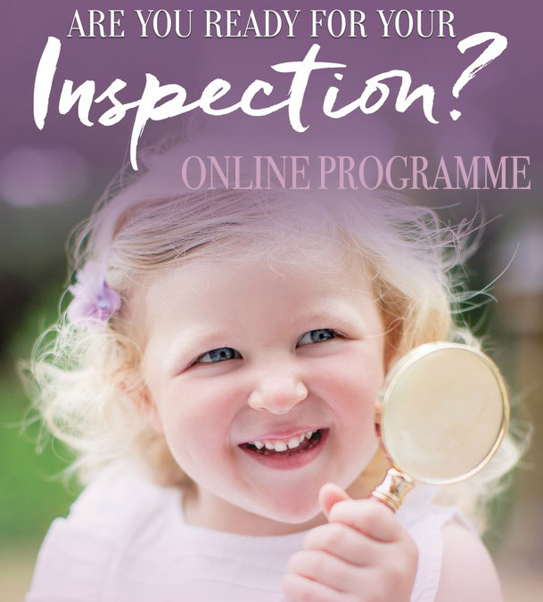 Are you ready for your inspection ONLINE programme
