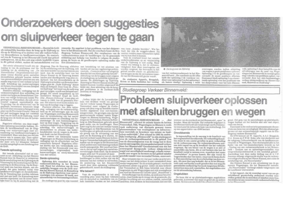 Veluwepost eind jaren 80