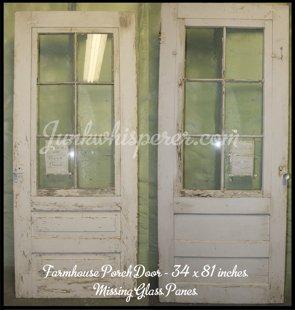 Each has a picture of the front and back. Hardware is not included but can be purchased. Size is stated on each. The price is $8.00sq.ft. & Barn Finds for Sale u2014 Junk Whisperer