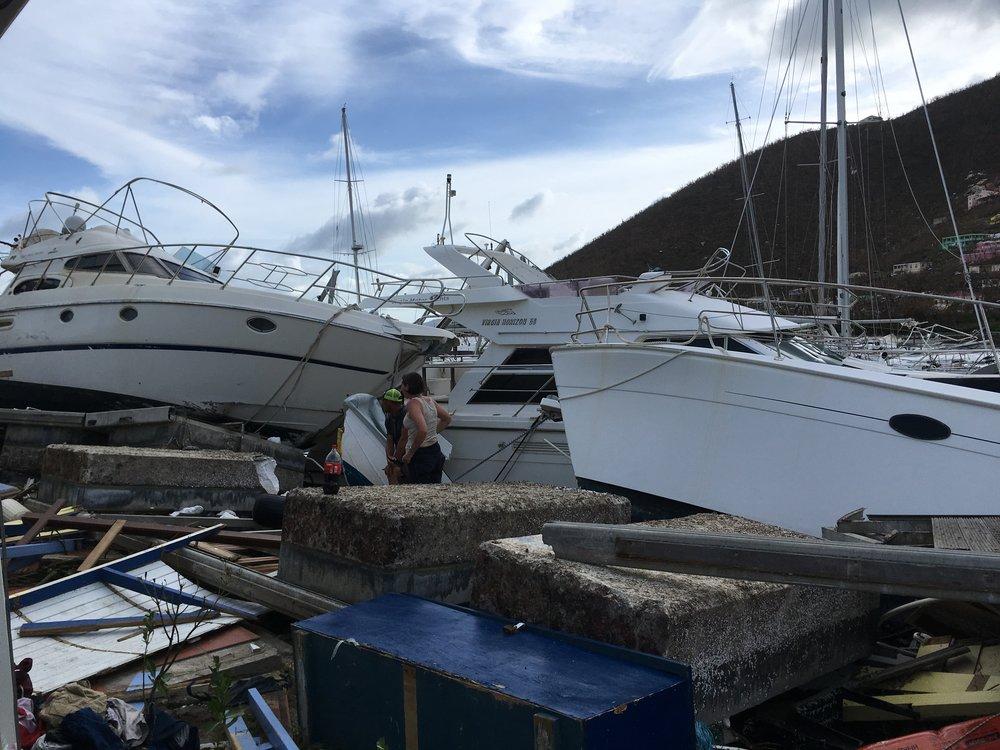 The Destruction at Village Quay Marina