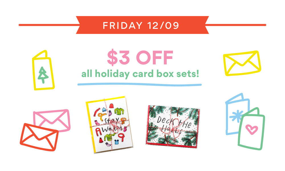 handzy holiday deals card sale