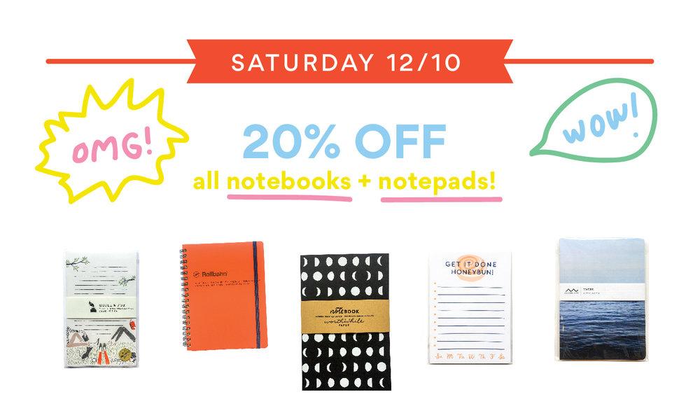 handzy holiday notebook sale cincinnati covington gift shop