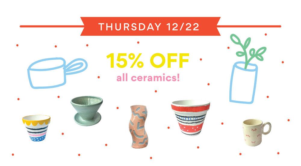 ceramics sale cincinnati ohio covington kentucky gift shop