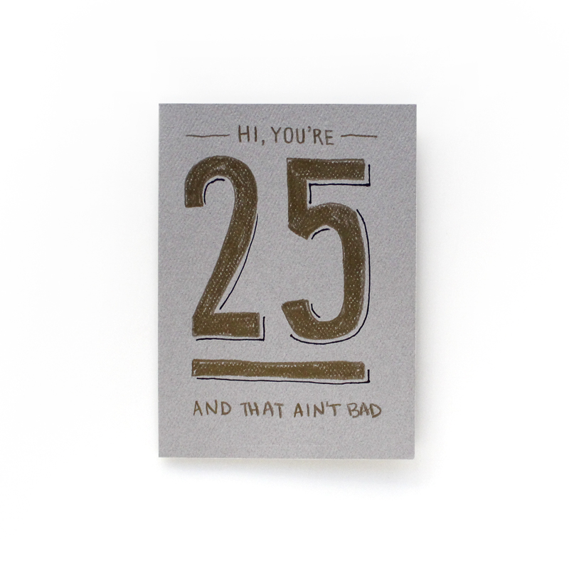 My 25th birthday!