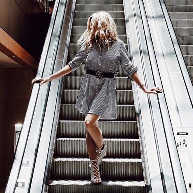 Tuesday's Outfit Inspo: The 'Olsen Shirt Dress' 🙌🏽 | 📷 by @trishandari #babesinbbd |