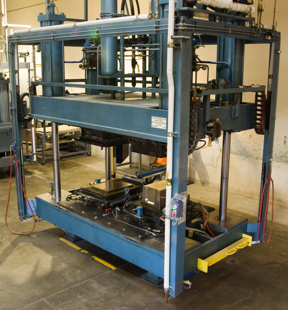 Low Pressure Platen Press