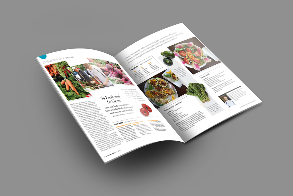Editorial layout and design