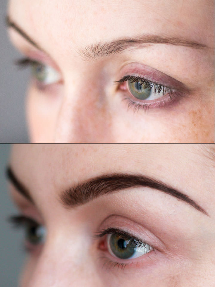 Before & After Eyebrows