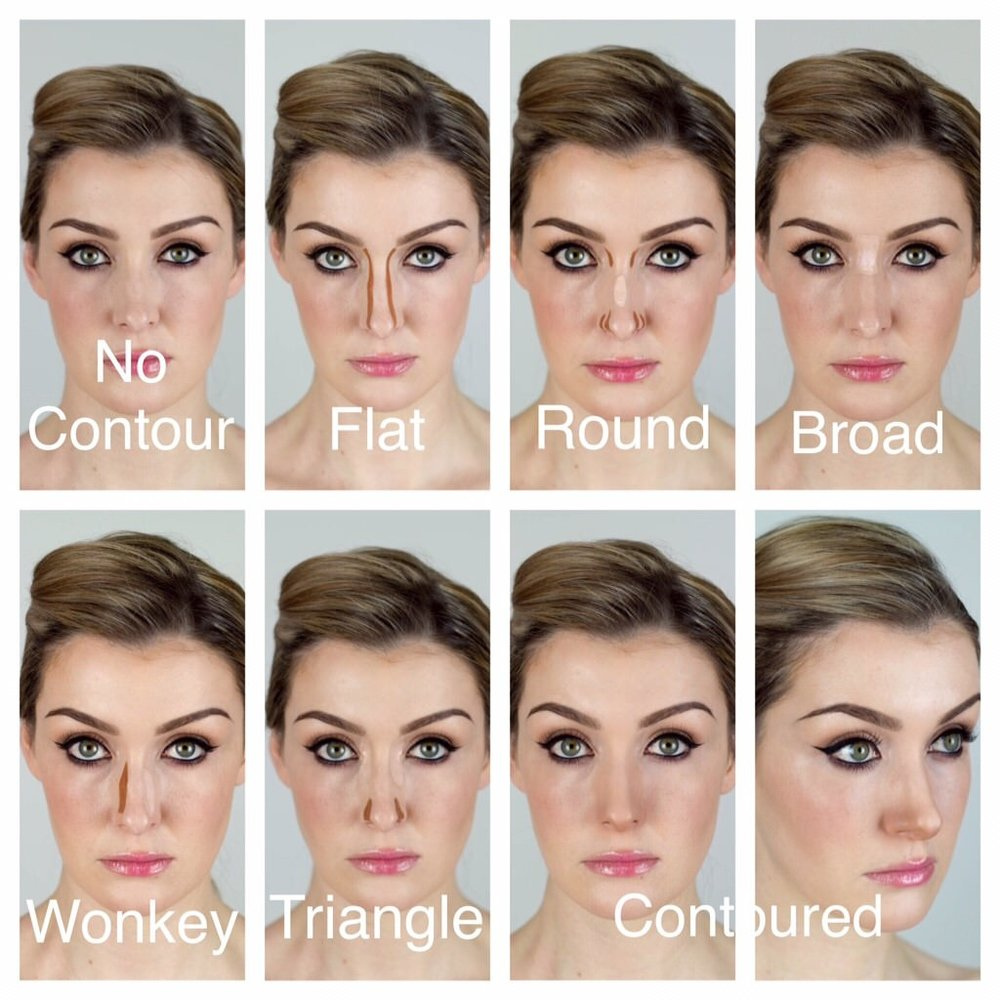 How to make my nose look smaller with makeup