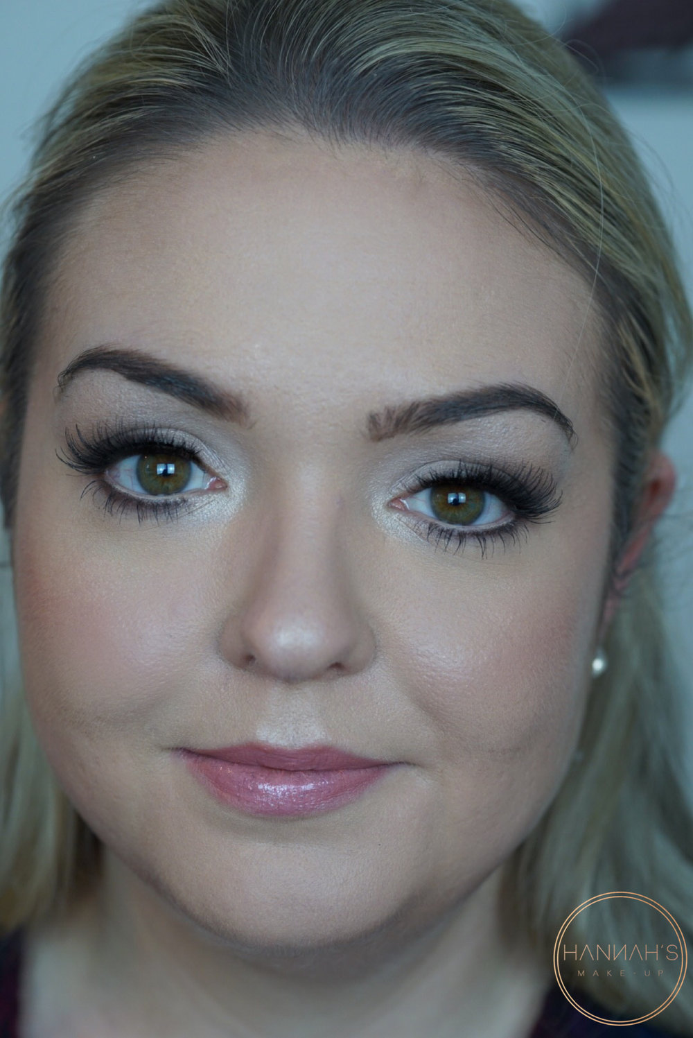 0608dfb90ce The 'bride to be' wanted soft smokey grey eyes with a subtle smoked out  wing with fluffy natural looking false eyelashes. Coverage was wanted for  her skin ...