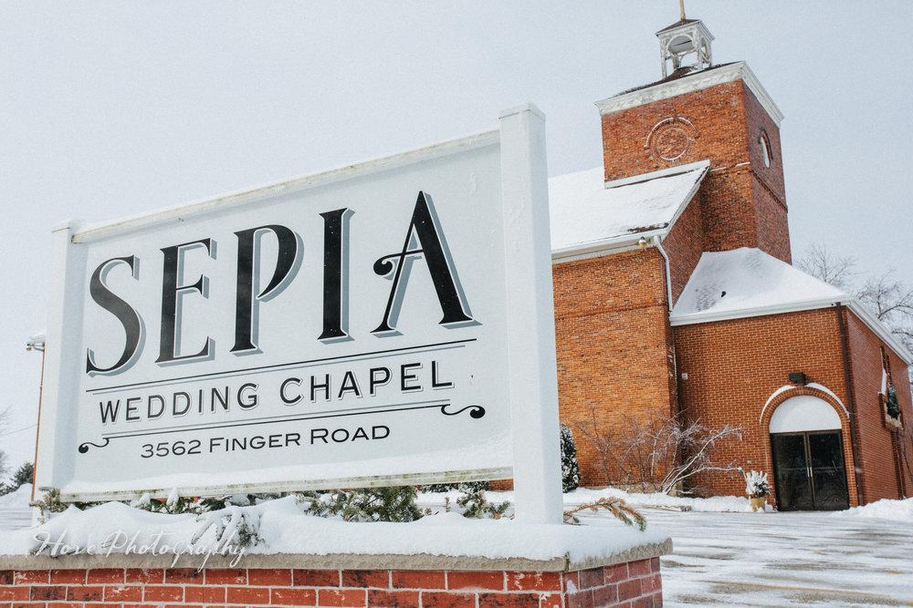 Sepia Chapel - Green Bay WI