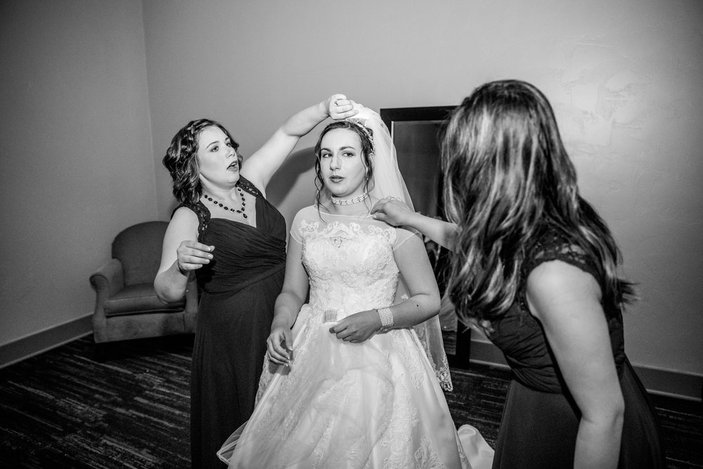Getting Ready - Bride