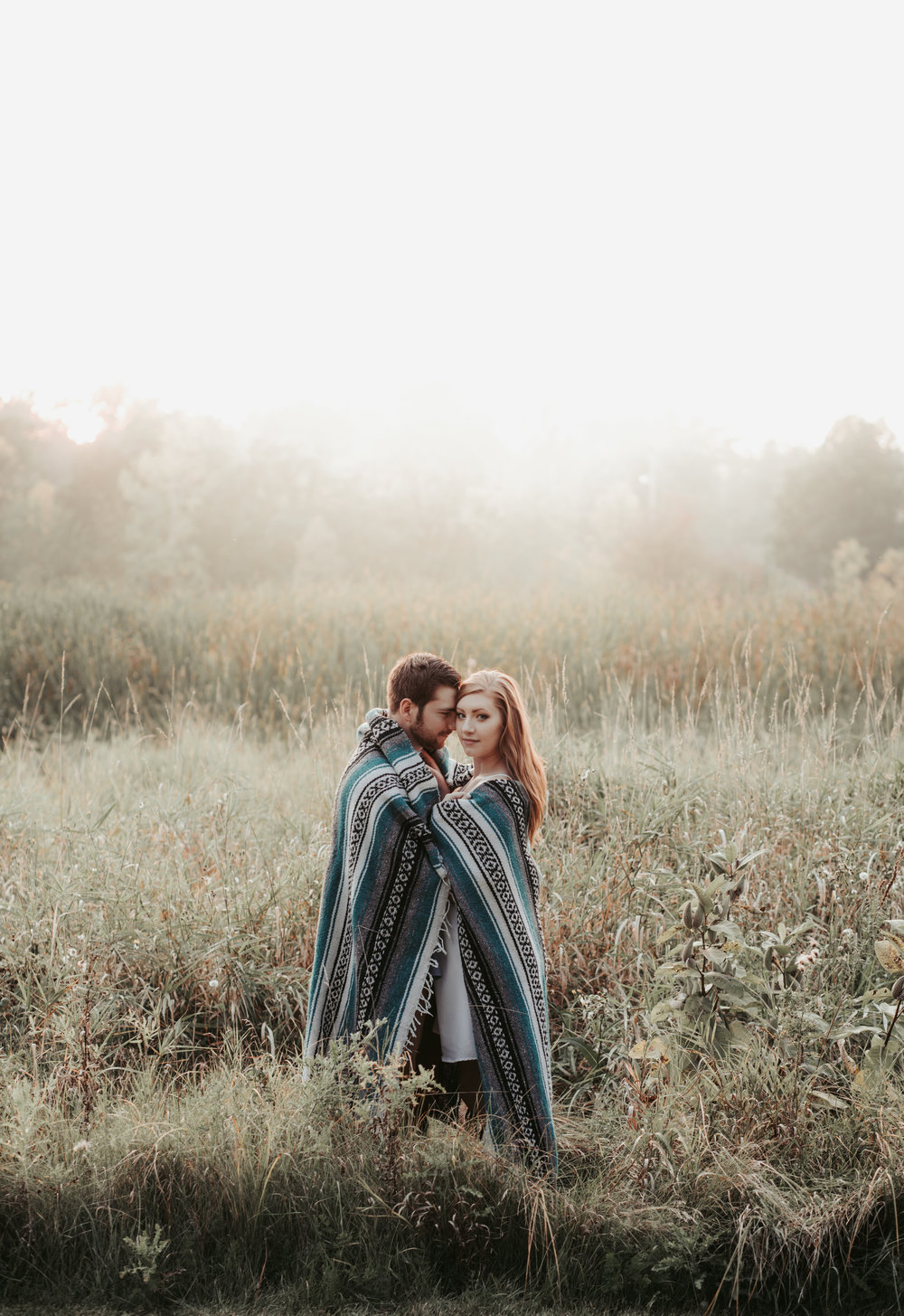 Golden Hour Engagement Session - Green Bay, Wi - Hove Photography LLC