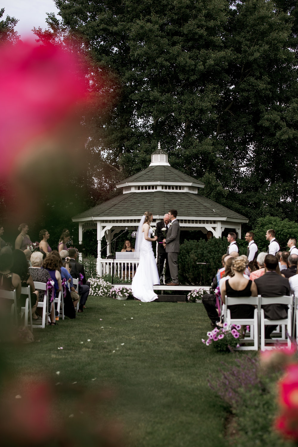 The Marq Wedding - Adventure Photographer - Outdoor Ceremony with Gazebo - Hove Brides - Hove Photographer