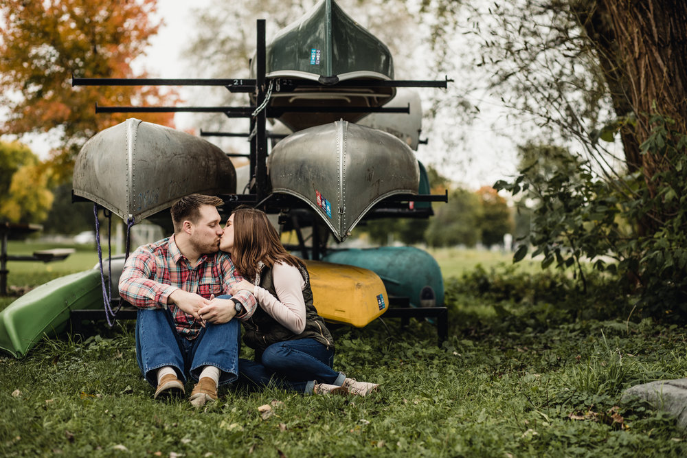 A Fun, Natural, Unposed, Candid and Fearless Bay Beach Amusement Park Engagement By Hove Photography a Wedding & Elopement Photographer Midwest & International