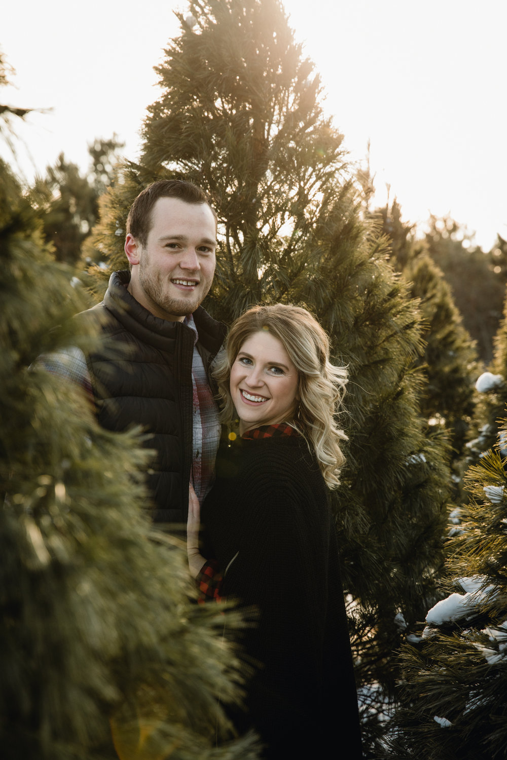 Christmas Engagement Session - Elopement - International Wedding Photographer