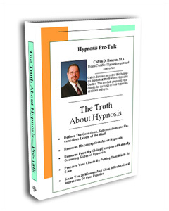 Pre-Talk – Truth About Hypnosis Training DVD