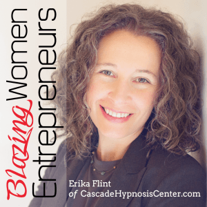 ERIKA FLINT ON BLAZING WOMEN