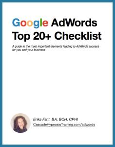 Google Top 20 Checklist