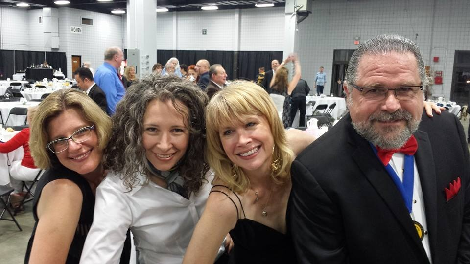 Hypnosis, ETC. Hosts at the NGH 2014 Banquet and Convention