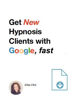 Get New Hypnosis Clients with Google, fast