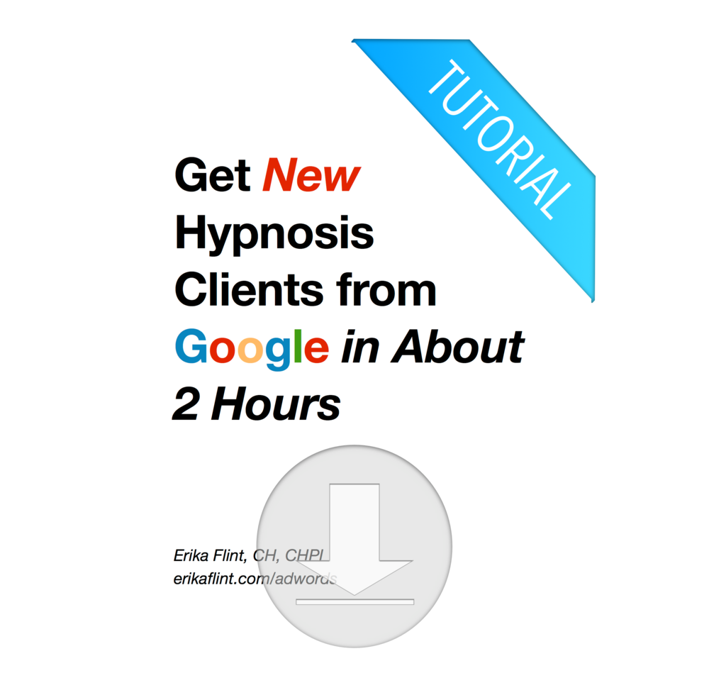 Get Hypnosis Clients Fast from Google
