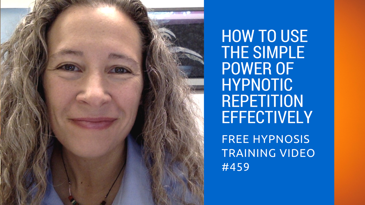 How to Use the Simple Power of Hypnotic Repetition