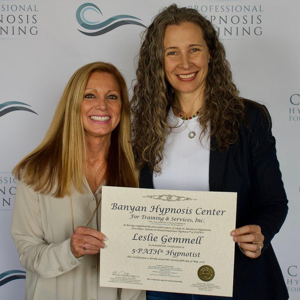 Leslie-Gemmell-Erika-Flint-Cascade-Hypnosis-Training.jpg