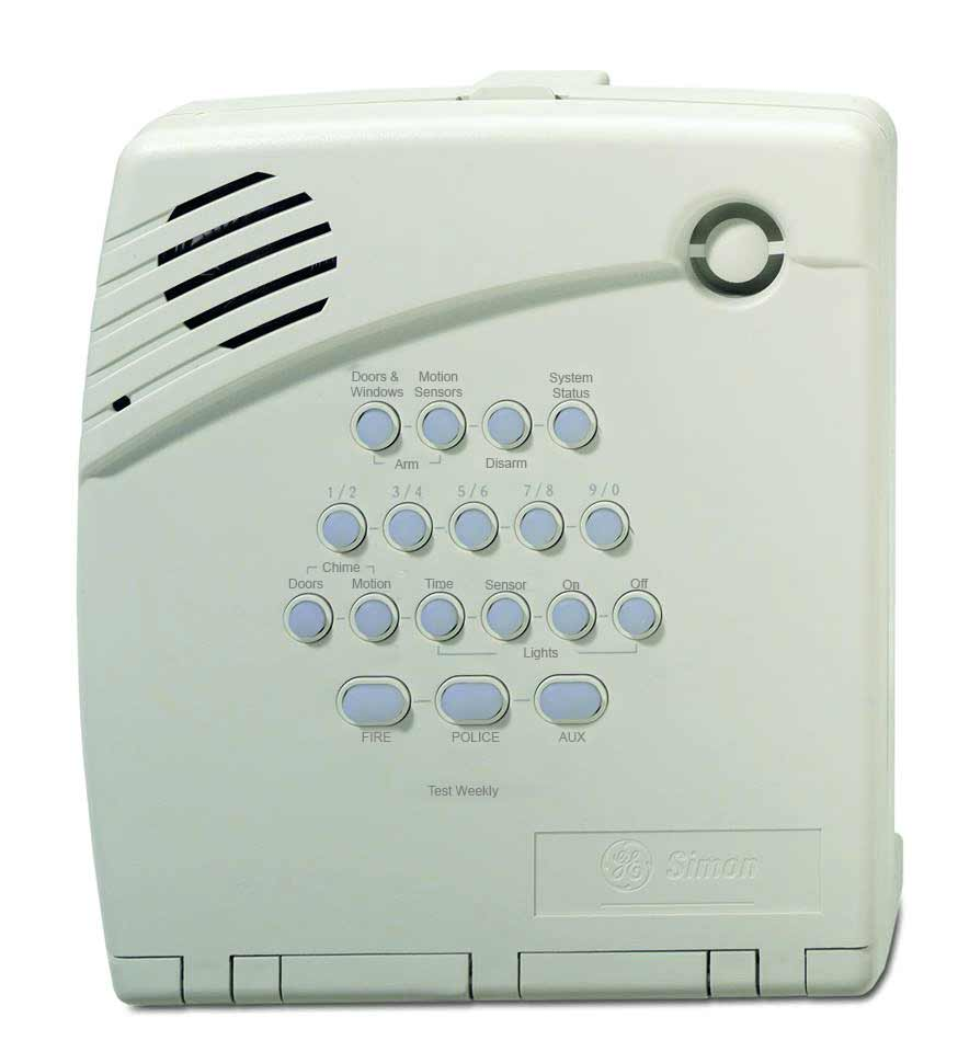 free simon 3 home alarm system
