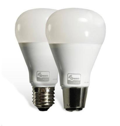 Smart LED light bulb homesecure