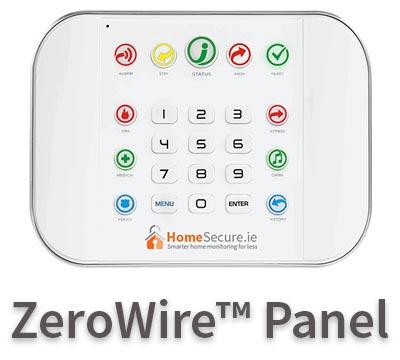 Wireless burglar alarm - ZeroWire™
