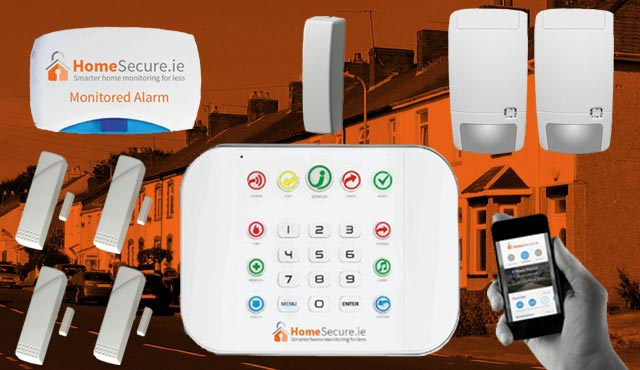 home security alarm system package
