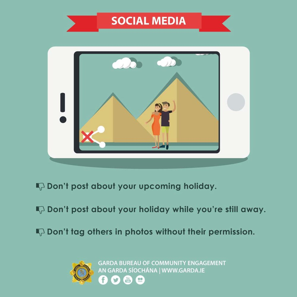Why you shouldn't post holiday photos on social media