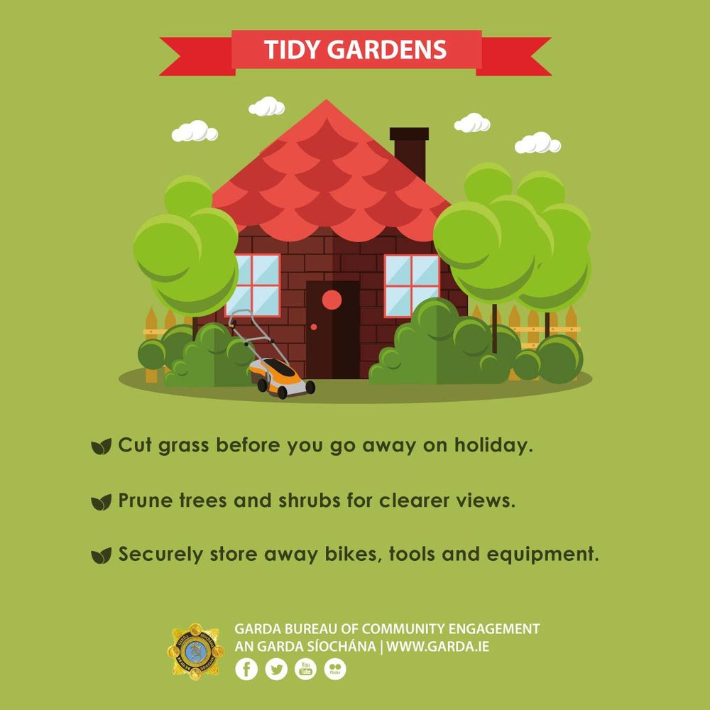 Ireland garden theft 2017
