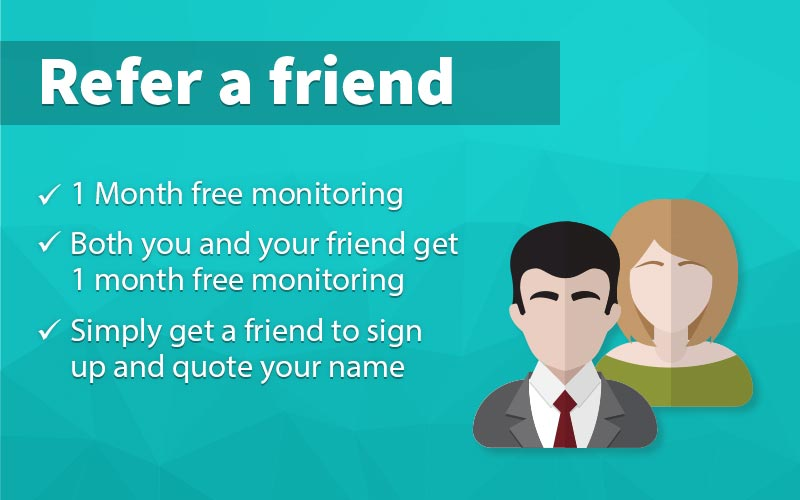 homesecure refer a friend offer