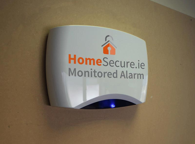 home monitored alarm