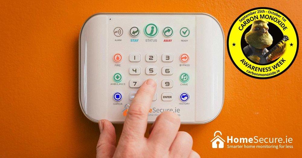 homesecure carbon monoxide alarm